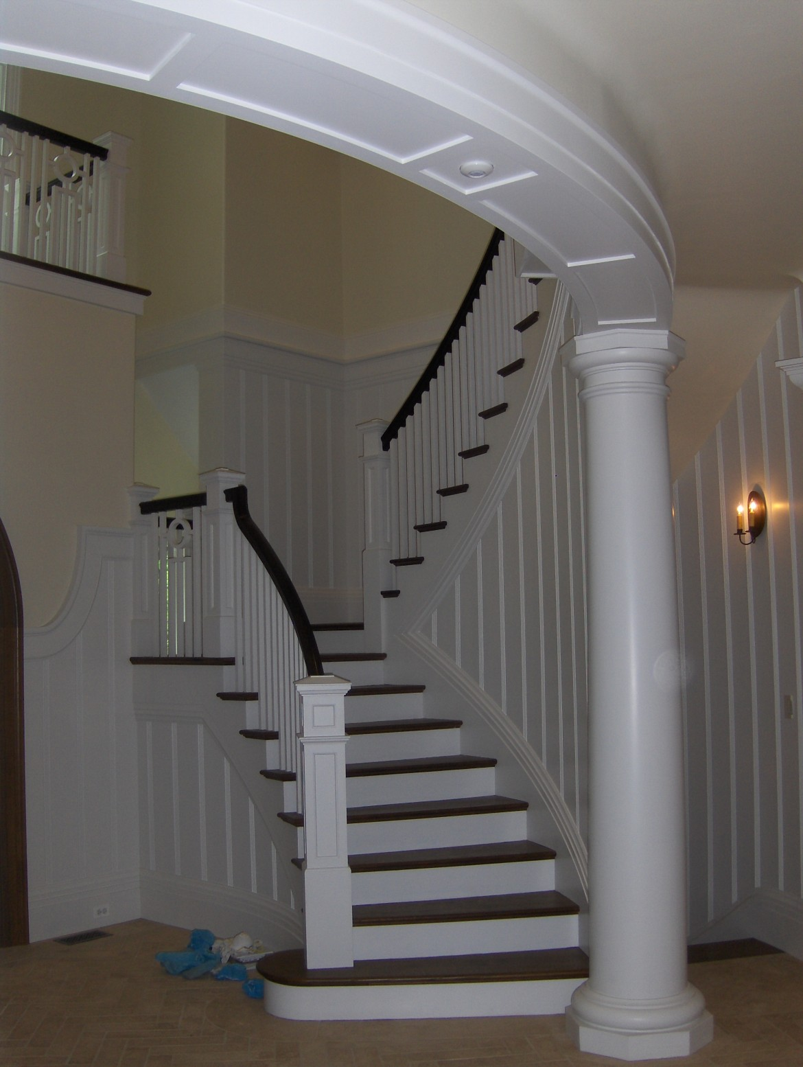 Architectural Stairway and Column