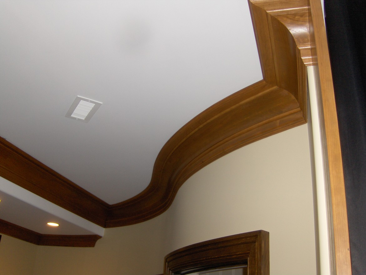Curved Crown Mouldings
